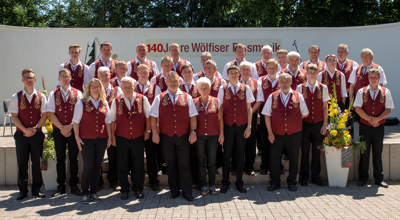 Blasorchester Wölfis - Musikfest 2018